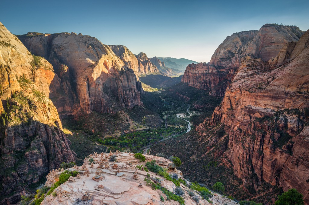 zion national park at sunset utah usa picture id653375748 image